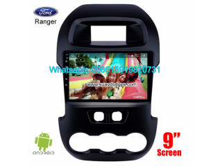 Ford Ranger Car stereo audio radio android GPS navigation camera