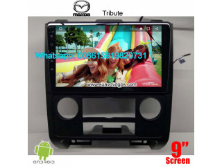 Mazda Tribute Car stereo audio radio android GPS navigation camera