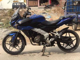 Fresh condition pulsar A.S 150 bike on sale... 70 lot