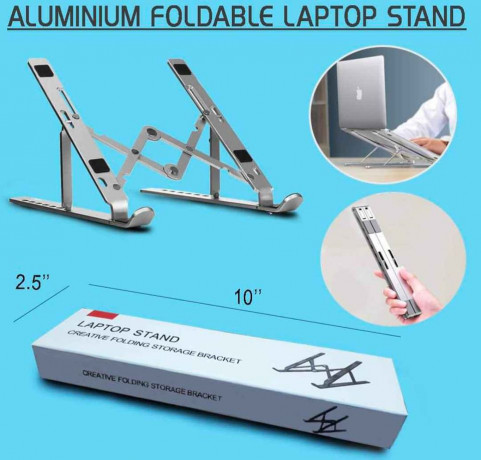 portable-aluminum-laptop-bracket-1950-only-free-delivery-order-now-9849499355-big-0