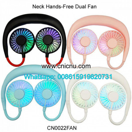 portable-hands-free-neck-usb-rechargeable-dual-mini-fan-big-3