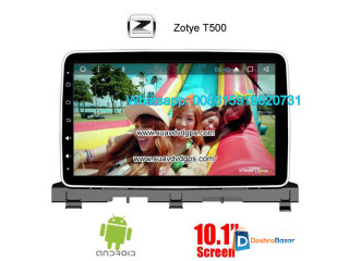 Zotye T500 Car audio radio update android GPS navigation camera