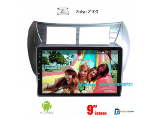 Zotye Z100 Car audio radio update android GPS navigation camera