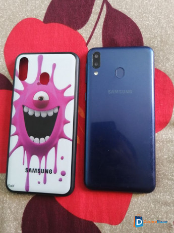 samsung-m20-464gbgood-condition-with-new-cover-glass-free-big-1